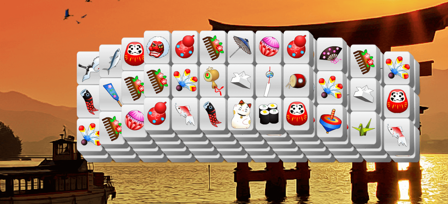 Discover Japan Mahjong full screen