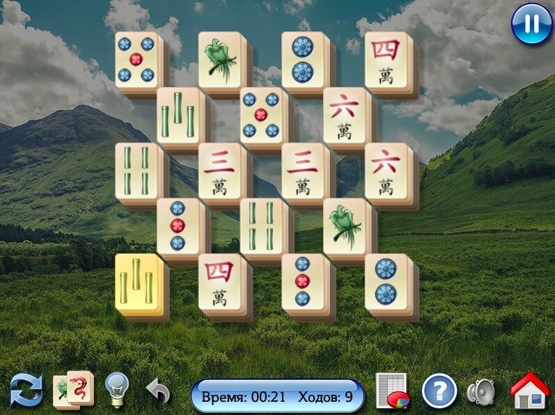 All in One Mahjong 3 part full screen