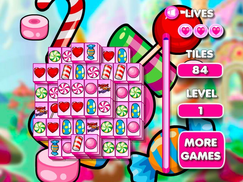 Mahjong Candy Connect full screen
