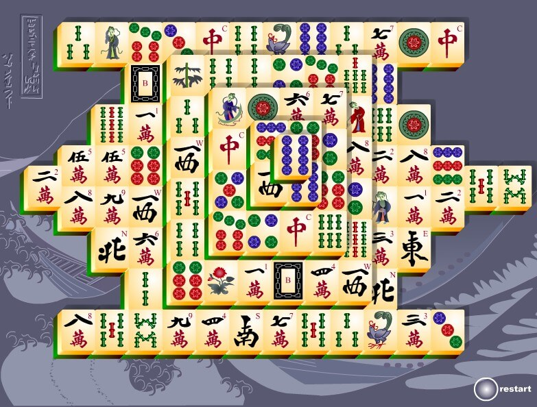 Mahjong for Windows 7 free download full screen