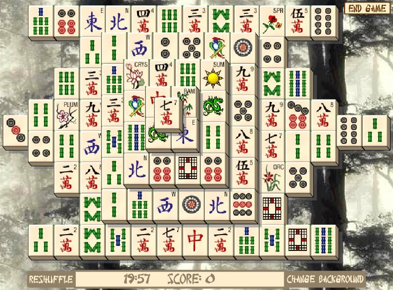 Mahjong Master full screen