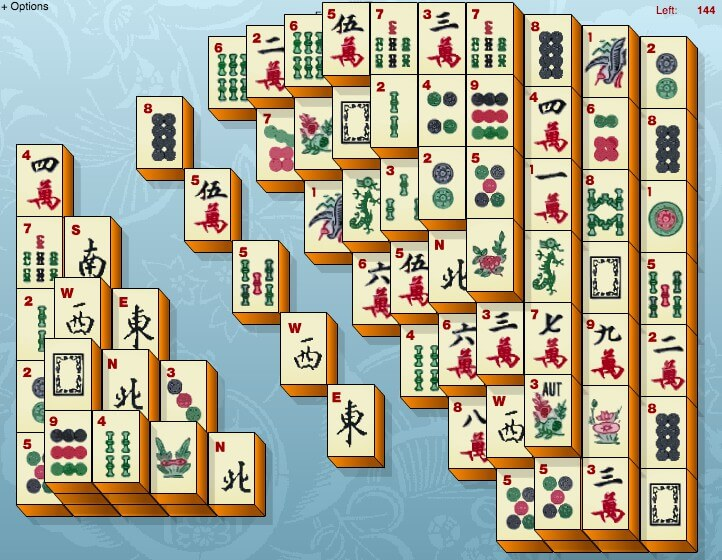 Mahjong Without Time full screen