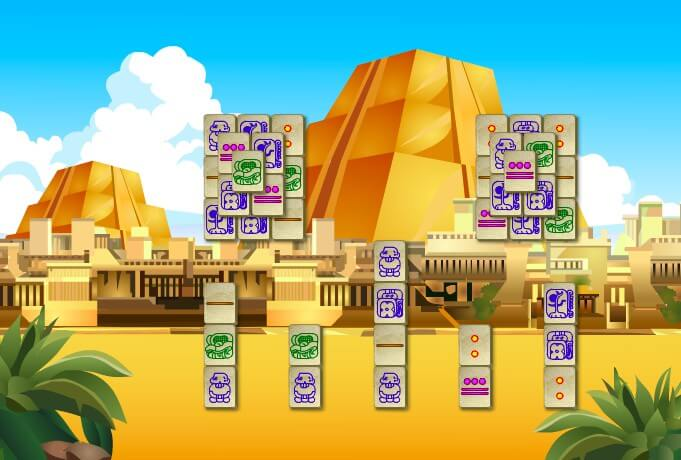 Mahjong Maya full screen