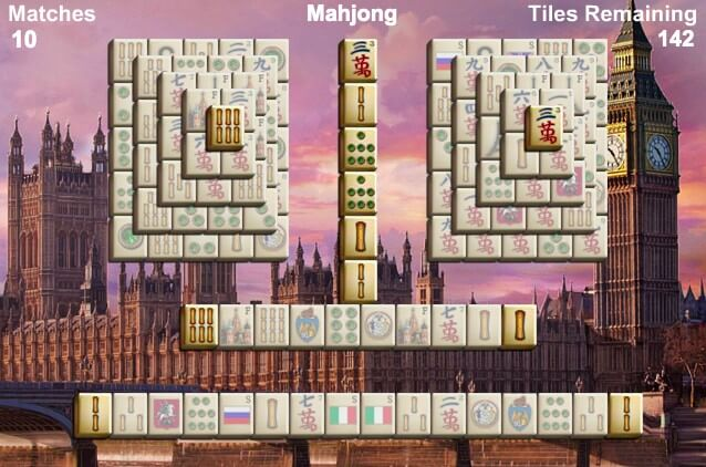 World's Greatest Cities Mahjong full screen