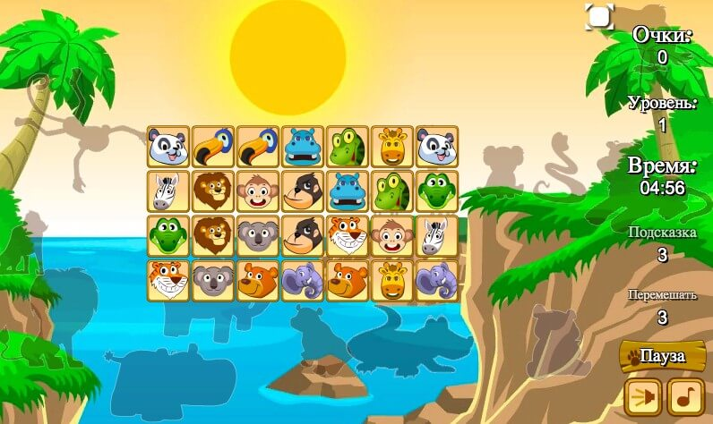 Animals Connect 2 full screen