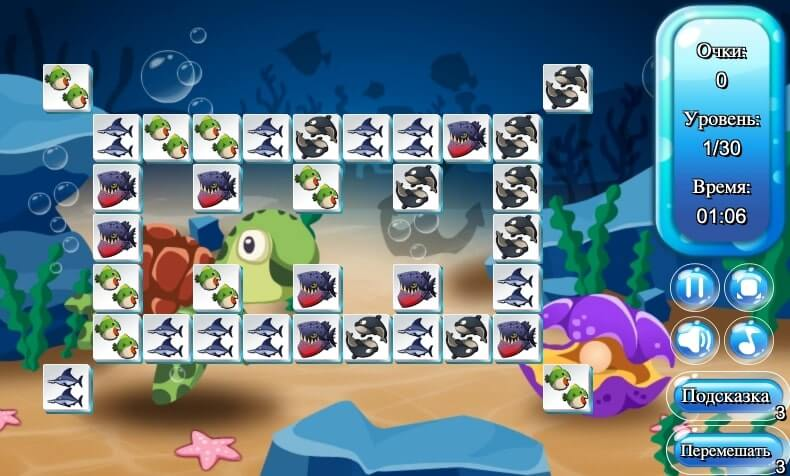 Connect Fish full screen