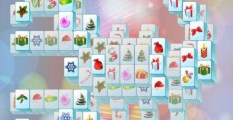 Free Santa Mahjongg game