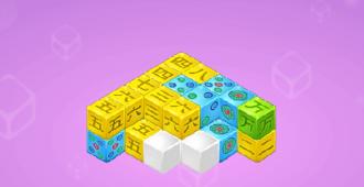 Mahjong Cubes game