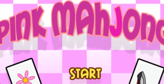 Pink Mahjong game