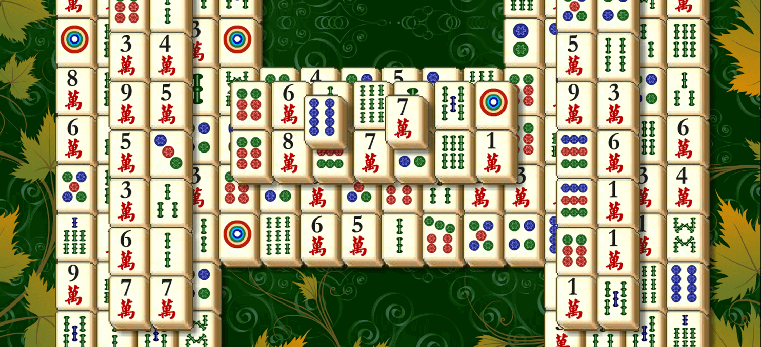 10 Mahjong full screen